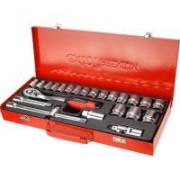 """Extol Premium racsnis dugókulcs készlet, 24 db, 1/2"""" (8818365)"""