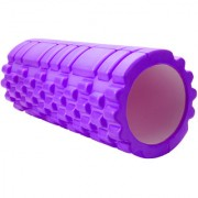 KONEX Fitness Massage Foam Roller Therapy Yoga Foam Roller with Bag (Color May Vary)