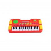 Sintetizador Electrónico Teclado De Piano Juguete Musical-rojo