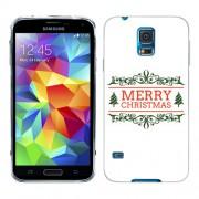 Husa Samsung Galaxy S5 Mini G800F Silicon Gel Tpu Model Craciun Merry Christmas