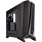 Carcasa Carbide SPEC-ALPHA, MiddleTower, Fara sursa, Negru/Argintiu