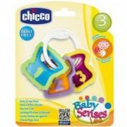 Бебешка дрънкалка - чесалка ключове, Chicco, 072418