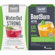 WaterOut STRONG malinowy napój odchudzający + spalacz tłuszczu BootBurn Active XXL
