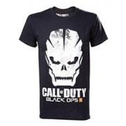 Tricou Call of Duty Black Ops 3 Grunge Skull Logo Marime L