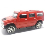 SHINRAI Scale Model Push Back Hummer Die Cast Cars Toys For Kids Friction Cars Die-Cast Cars Toys (Color May Vary)