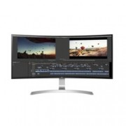"Монитор LG 34UC99-W, 34"" (86.36 cm) IPS извит панел, UWQHD, 5ms, 1 000 000:1, 300 cd/2, Display Port, 2x HDMI, USB Type C, 2x USB 3.0"