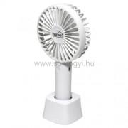 Kézi, tölthető ventilátor