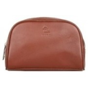 Kara Travel Toiletry Kit(Brown)