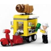 Figurina Masina cu Hot Dog M38-B0565