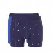 Ten Cate Men Basic Shorts Blue Wyber White Deer