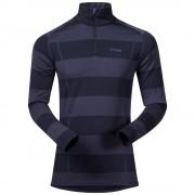 Bluza de corp 100% Lana Merino Bergans Fjellrapp Half Zip - Navy