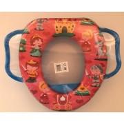 Toiletbril verkleiner Voor Kinderen - blauw - Kasteel
