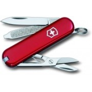 Victorinox 7 Function Matt Finish Swiss Army Knife(Red)
