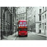 Fototapet Londra - Red Double-Decker