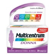 PFIZER ITALIA DIV.CONSUM.HEALT Multicentrum Donna Integratore Multivitaminico Multiminerale 30 Compresse