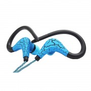 Casti Wireless cu bluetooth St-003, 110 dB, Albastru