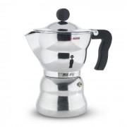 Alessi A Di Alessi Espressokocher Moka Aluminium 300 ml