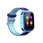 YQT 4G Children Phone Watch Positioning Waterproof Camera SOS Video Call Smart Watch - Blue