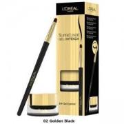 Гел очна линия Loreal Super Liner Intenza, Golden Black 02, 2.8 гр, 3600522059455