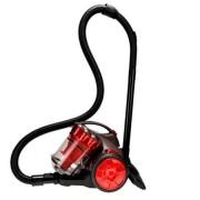 Aspirator multiciclonic Comelec ASP2209, fara sac, 700W, Clasa A, Cablu 3 m, Rosu