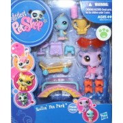 Littlest Pet Shop Rollin' Fun Park Gift Pack - Includes Pet #2043 and #2044 - Ag