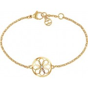 TOMMY HILFIGER -TJ Coin Charm Bracelet Gold - Staal 18 cm