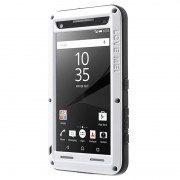 Sony Xperia Z5 Compact Love Mei Powerful Hybrid Case - White