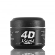 Gel UV 4D Plastilina Negru