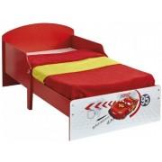 Cars Blixten McQueen juniorsäng med madrass - Disney Cars barnsäng 652701