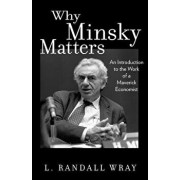 Why Minsky Matters: An Introduction to the Work of a Maverick Economist, Paperback/L. Randall Wray