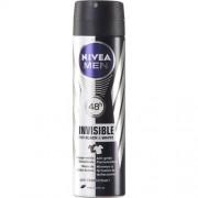 Nivea Invisible Black & White For Men Deo Spray 150 ml