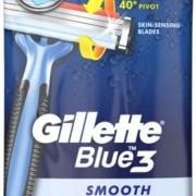 Gillette Blue 3 Smooth engångshyvlar 4 st