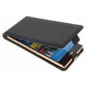 Luxe Flipcase voor de Sony Xperia Z3 Plus - Zwart