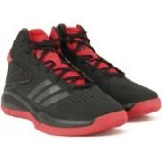 Adidas CROSS 'EM 4 Basketball Shoes For Men(Black)