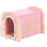 Bigjigs Rail Pink Brick Tunnel
