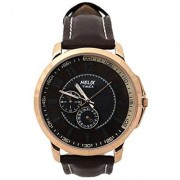 Helix Quartz Brown Dial Mens Watch-TW027HG13