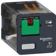Releu,120Vac,10A,2C/O,Cu Led RUMF22F7 - Schneider Electric