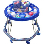 Oh Baby Baby 8 wheel blue color walker for your kids SE-W-04