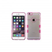 Funda Protector Case Transparente para iPhone 6 Plus-Rosa