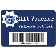 Hobby Shop - Gift Voucher 500 lei