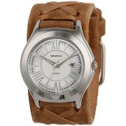 Nemesis Unisex BFXB099S Classics Faded Leather Band Watch