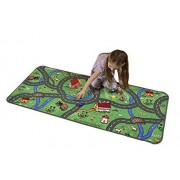 Learning Carpets, Inc. Learning Carpets Countryside Play Carpet, 27 x 60