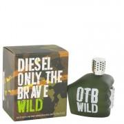 Diesel Only The Brave Wild Eau De Toilette Spray 2.5 oz / 74 mL Men's Fragrance 516928