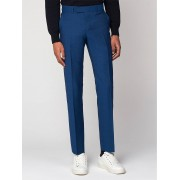 Ben Sherman Main Line Out Deep Teal Blue Tonic Camden Trouser 32L Teal
