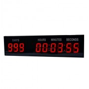 1.8'' LED Large Digital Countdown Clock Event Timer With Remote And Buttons