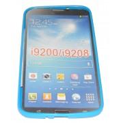 Силиконов гръб ТПУ за Samsung Galaxy I9200 Mega 6.3 Син
