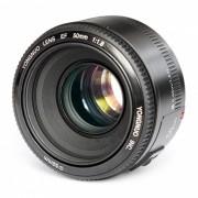 Lente de enfoque fijo YONGNUO YN EF 50mm F / 1.8 para Canon DSLR