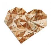 Luckies Herz-Puzzle mit persönlicher Nachricht
