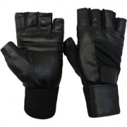 GENERIC Gym/Sports Leather Gloves