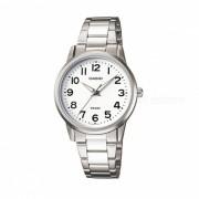 Casio LTP-1303D-7BVDF reloj analogico - plata + blanco (sin caja)